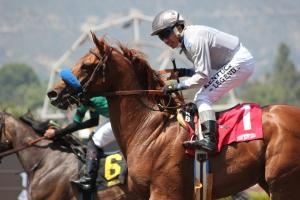 He Will - Rafael Bejarano - winner race 2 (2)