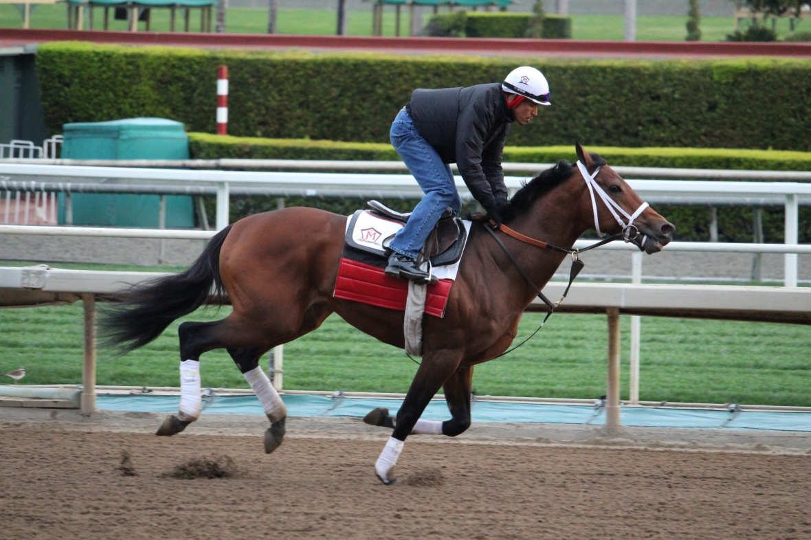 Originaire worked 4 furlongs in 50.80 for trainer Jeff Mullins.